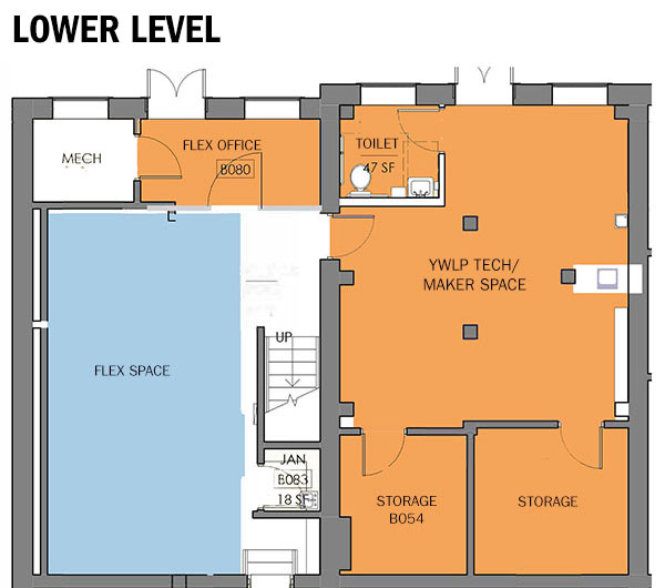 Lower Level Renovation Plans