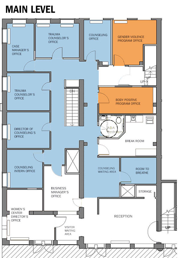 Main Level Renovation Plans