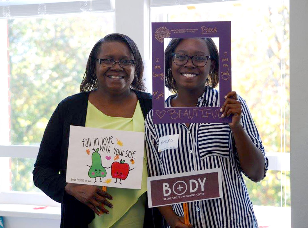 Body Positivi-tea Mom and Daughter Participants