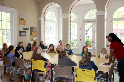 Village School Students Learn about the Women's Center