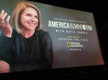 Katie Couric returned to Grounds for a special episode screening of America Inside Out